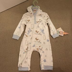 NWT BUNNIES BY THE BAY onesie 9-12 mo